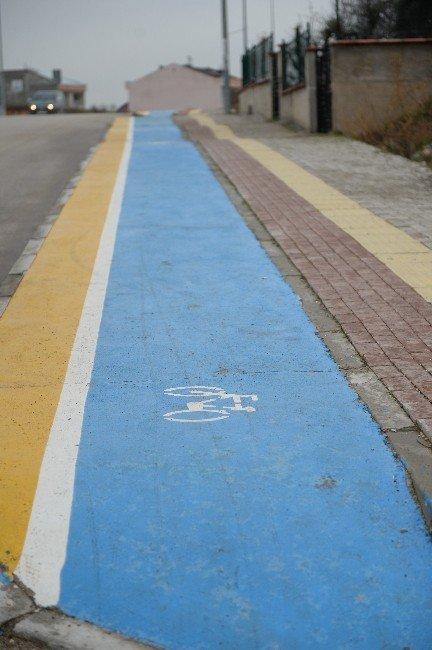 Osmangazi'den 15 Kilometre Bisiklet Yolu