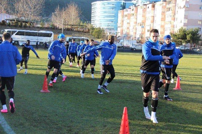 Karabükspor'da Balıkesirspor Maçı Hazırlıkları Sürüyor