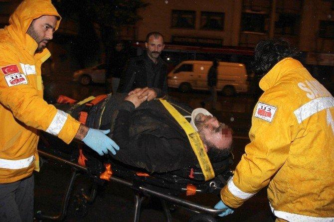 Samsun'da Motosiklet Kazası: 1 Yaralı