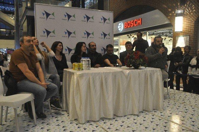 'Sevgili Karım' Oyuncuları Forum Mersin'de