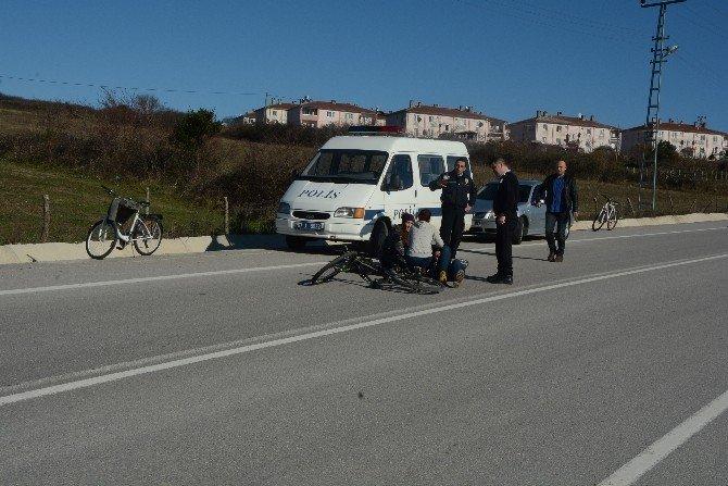 Bisiklet Kazası: 1 Yaralı