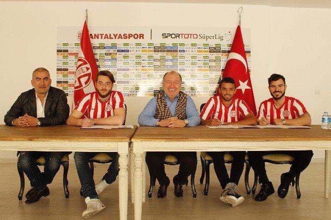 Antalyaspor Transferde Hız Kesmiyor