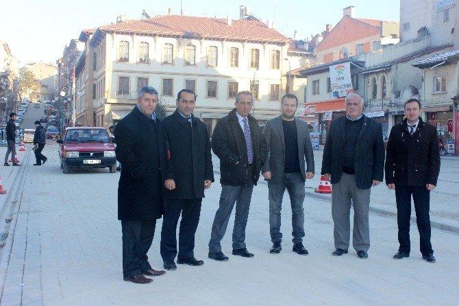 Taşköprü Cumhuriyet Meydanı Trafiğe Açıldı