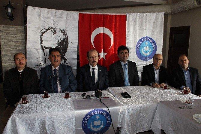 Türk Eğitim Sen Basın Mensuplarıyla Bir Araya Geldi