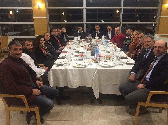 Ziraat Mühendisleri Odası Trabzon Şubesi'nin Yeni Yönetimi İlk Toplantısını Yaptı