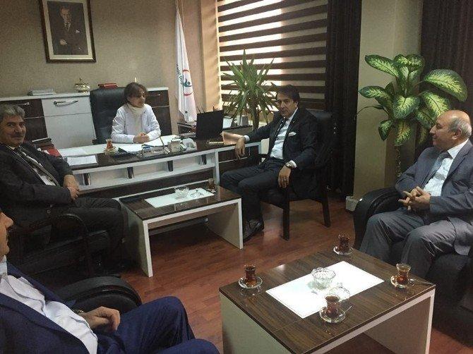"""Aydemir: """"Erzurum 2023'e De Damga Vuracak. Sağlıkta Erzurum Marka Şehir"""""""