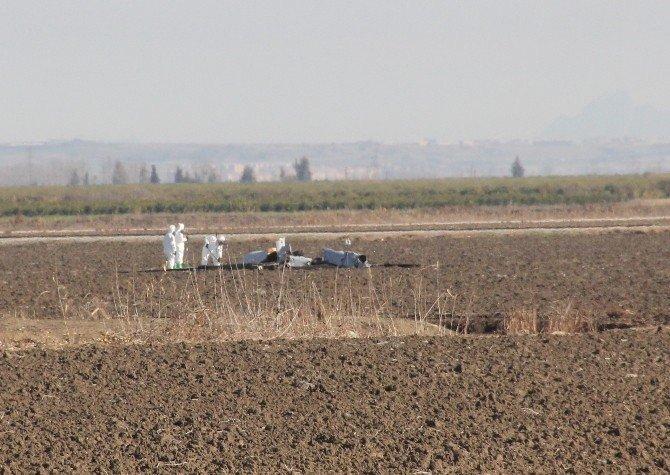 Adana'da İnsansız Hava Aracı Düştü