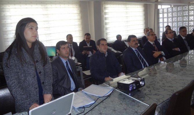 Çevre Ve Şehircilik Müdürlüğü'nün Hizmet İçi Eğitimleri Devam Ediyor