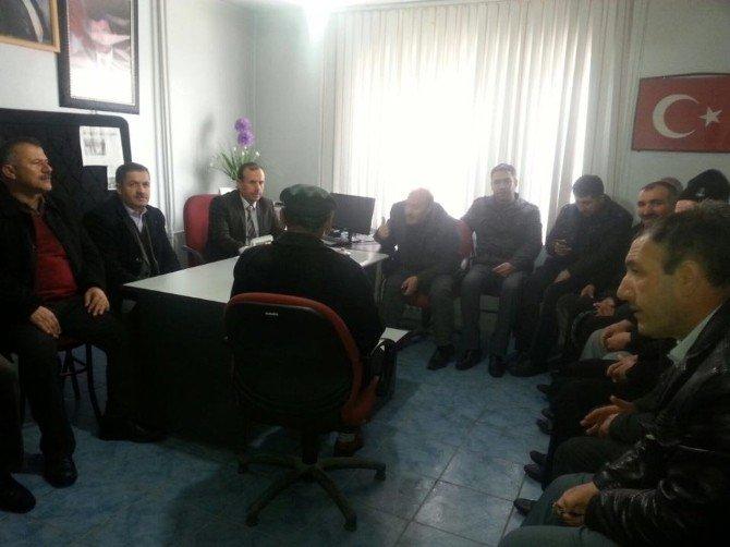 Hasköy'de İstişare Toplantısı