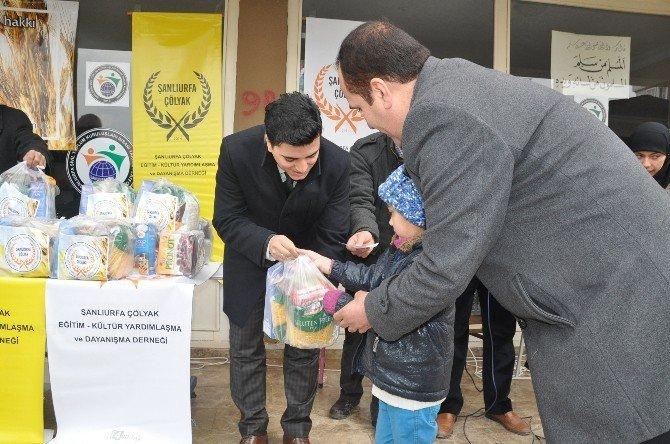 Çadır Kentin Çölyak Hastalarına Gıda Ve Giyim Yardımı Yapıldı