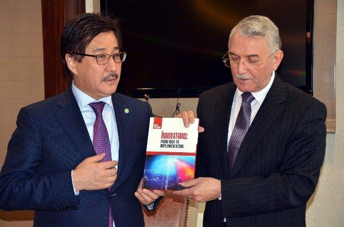 ESOGÜ İle Al-farabi Üniversitesi Arasında İşbirliği Protokolü İmzalandı