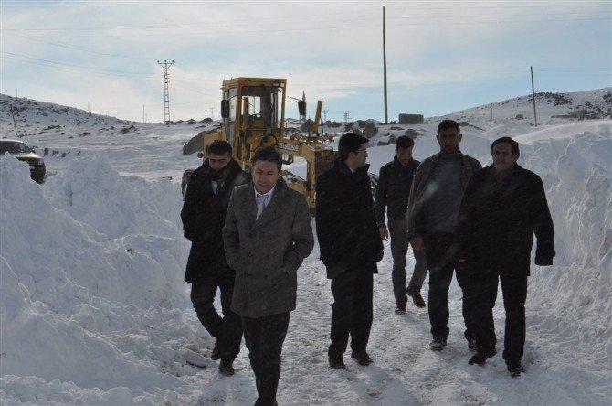 Arpaçay'da Karla Mücadele Çalışmları