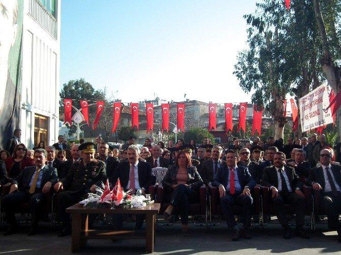 Atatürk'ün Aydın'a Gelişi Törenle Kutlandı
