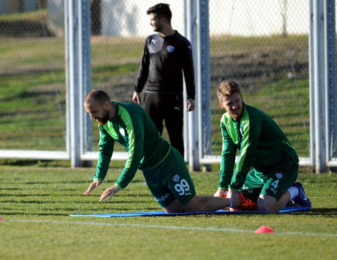 Bursaspor, Başakşehir hazırlıklarını sürdürdü