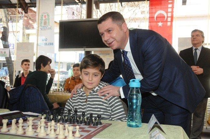 Çan Belediyesi 4. Satranç Turnuvaları Başladı