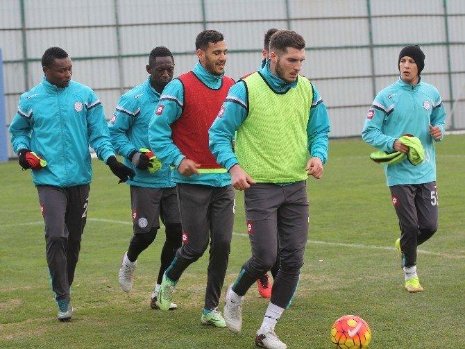 ÇAYKUR Rizespor'da Eskişehirspor Maçı Hazırlıkları