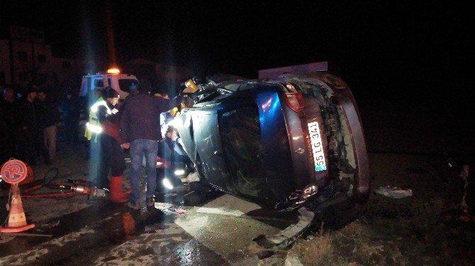 Emanet Otomobille Kaza Yaptılar: 3 Ölü, 1 Yaralı