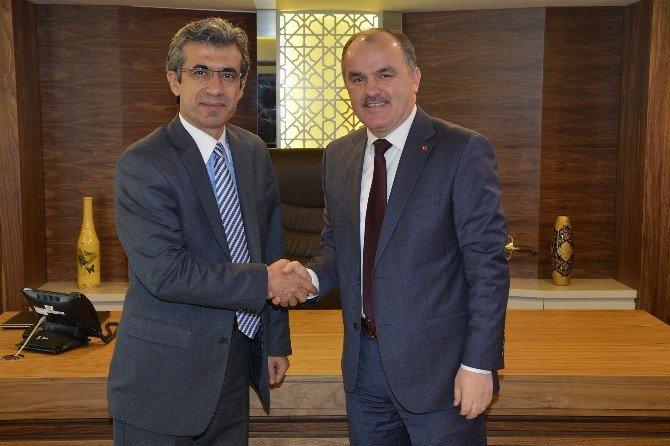 Başsavcı Alper'den Başkan Gürlesin'e Ziyaret