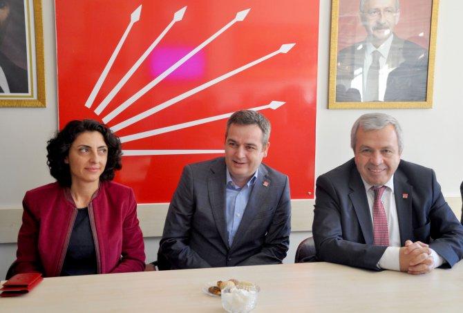 CHP İl Başkanı Özdemir'den Karacabey'e ziyaret