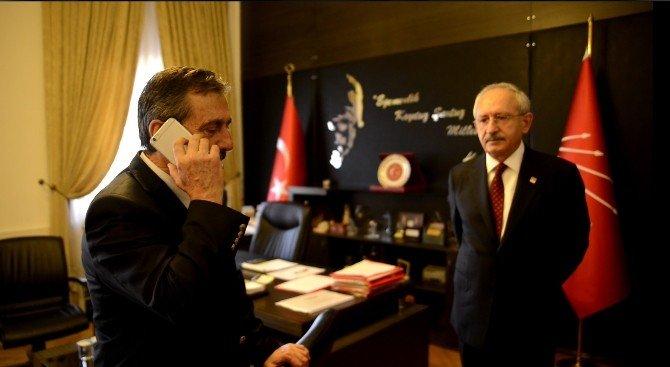 Kılıçdaroğlu'ndan Şehit Babasına Baş Sağlığı Telefonu