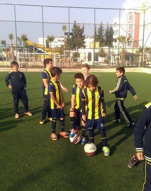 Didim Fb Spor Okulunun 8 Sporcusu Seçmelere Katıldı