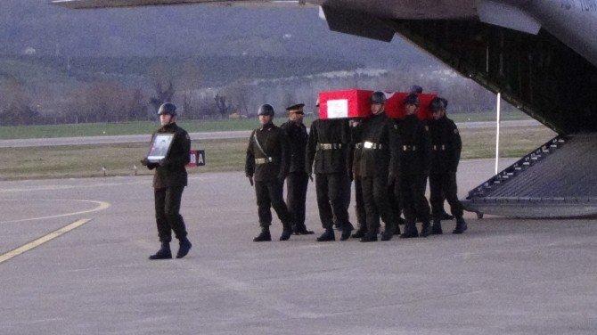 Şehit Uzman Çavuş Cin'in Cenazesi Zonguldak'a Getirildi