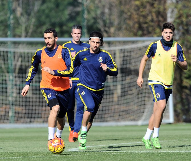 Fenerbahçe'de Antalyaspor maçının hazırlıkları sürüyor