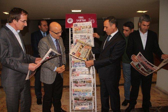 Yerel Gazetimi Okuyorum Projesine Fırat Üniversitesinden Destek