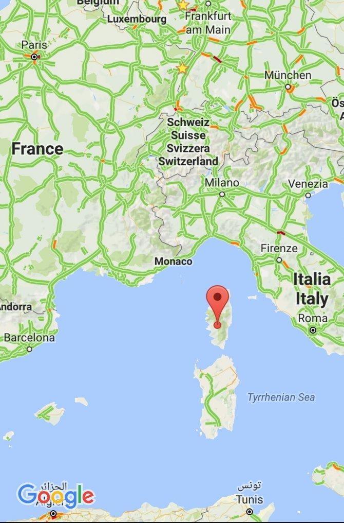 Korsika adasında Müslümanların işlettiği kasap silahlı saldırıya uğradı