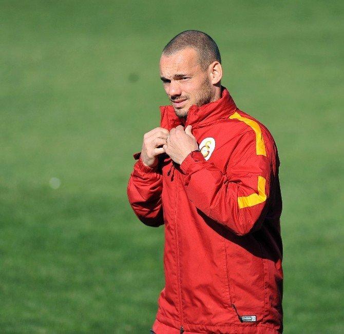 Galatasaray'da Podolski Sevinci
