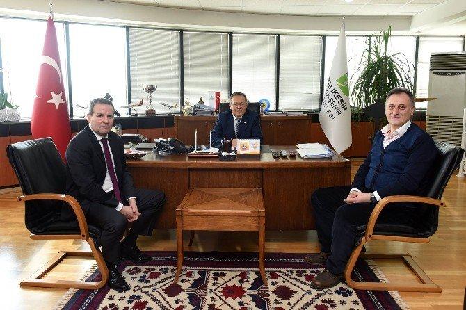 Hilton Otelleri Başkan Yardımcısından Balıkesir Belediyesi'ne Ziyaret