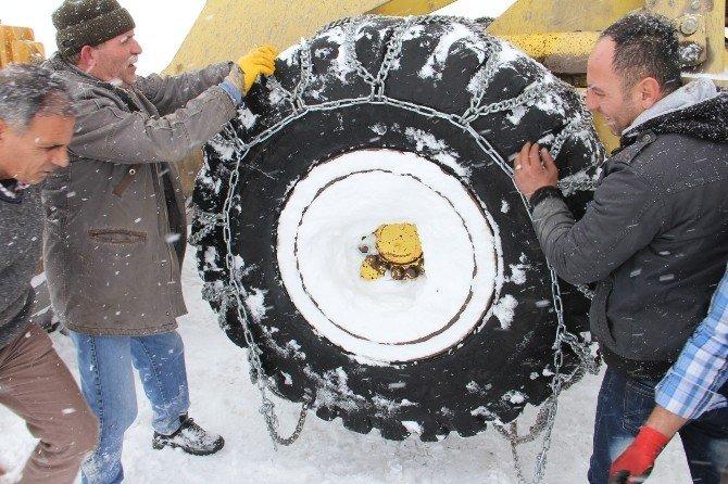 Iğdır'da Karla Mücadele Çalışması