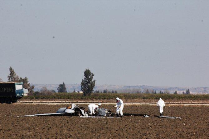 ABD'ye ait silahlı insansız hava aracı tarım arazisine düştü