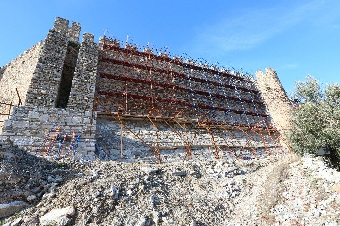 UNESCO Listesindeki Tarihi Kalede Çalışmalar Hızlandı