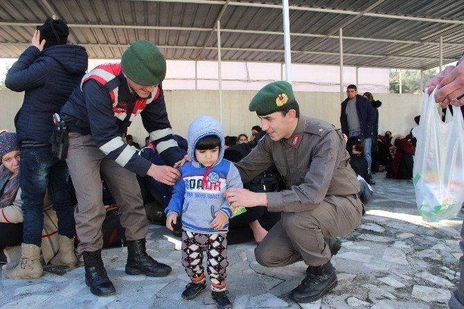 Edremit'te 95 Kaçak Yakalandı