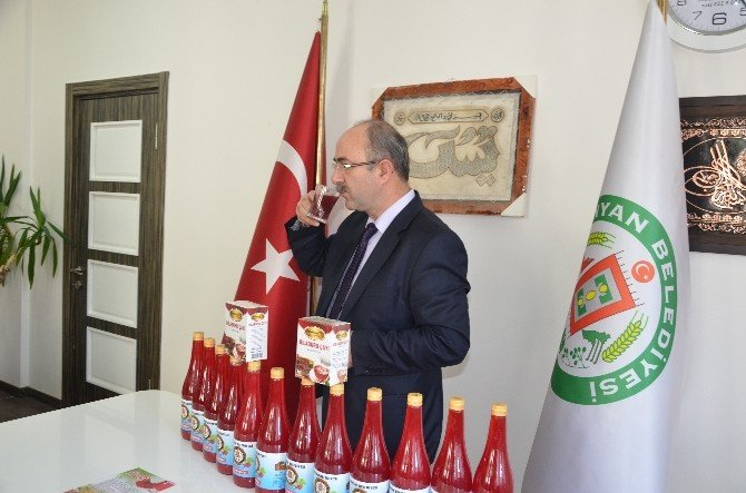Bünyan Belediyesi Gilaburuyu Şişeledi