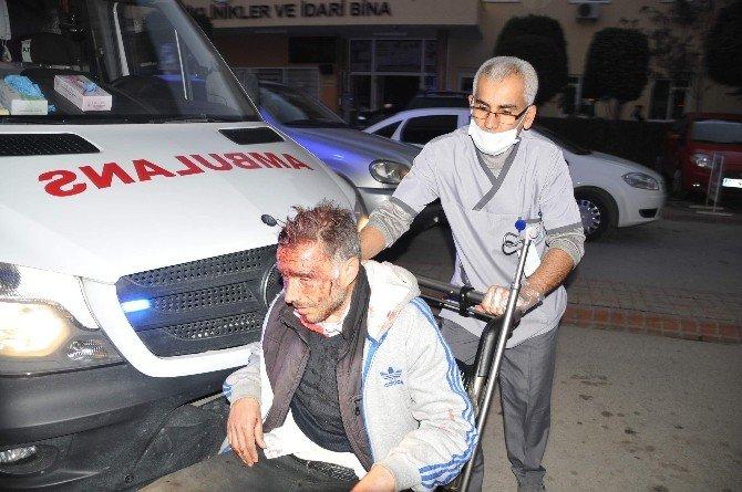 Alanya'da Trafik Kazası: 2 Yaralı
