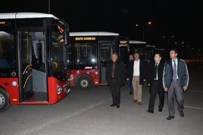 Toplu Taşıma Araçlarına Dezenfekte Tedbiri
