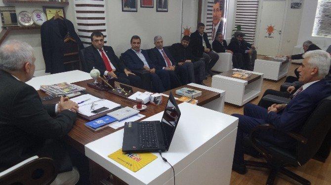 Mathap'tan AK Parti İl Başkanı Kahtalı'ya Ziyaret