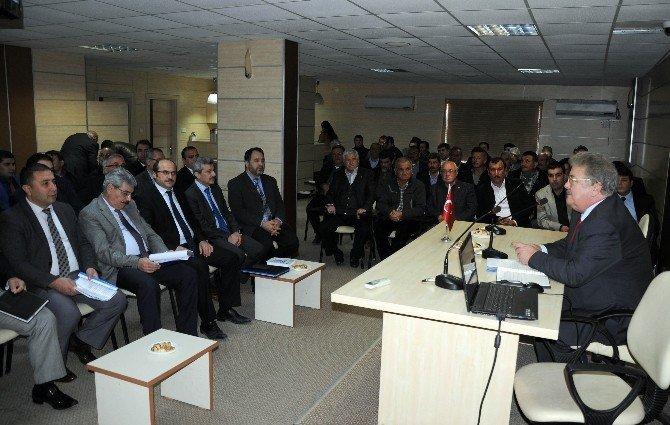 Erdemli İlçe İdare Kurulu Toplantısı Yapıldı