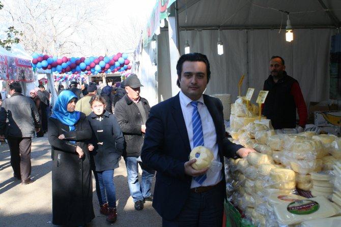 Karadenizlilerin yöresel fuarı Mudanya'da ilgi görüyor