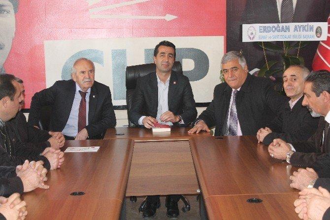 NESOB'dan CHP'ye Ziyaret