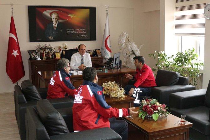 Nevşehir UMKE ekibi, Şırnak'tan döndü