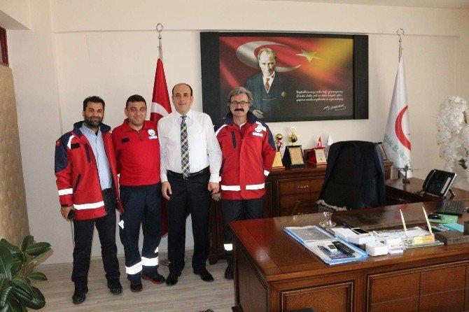 Nevşehir UMKE Ekibi Şırnak Görevini Tamamladı
