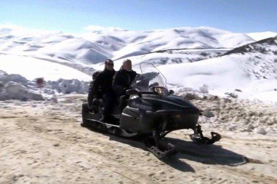 Kar Motoru Devrildi, AK Partili Vekiller Kazayı Ucuz Atlattı