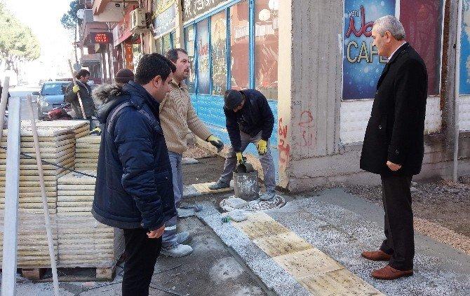Osmancık Belediyesi'nden Kaldırım Çalışması