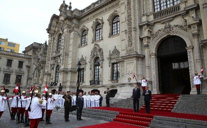 İlk Kez Bir Türkiye Cumhuriyeti Cumhurbaşkanı Peru'yu Ziyaret Etti