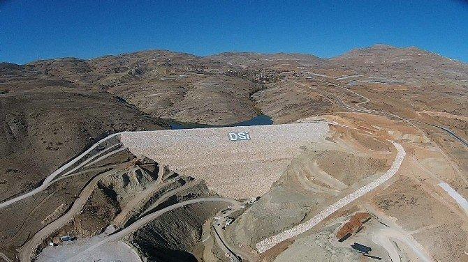 Özdemir Barajı'nın Sulamasında Sona Doğru