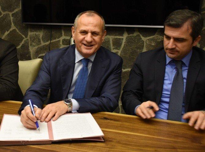 Düzce İli Belediyeleri S Plaka Protokolü İmzalandı