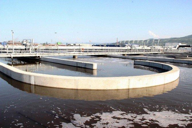 Günde 105 Bin Metreküp Atık Suyu Arıtıyor